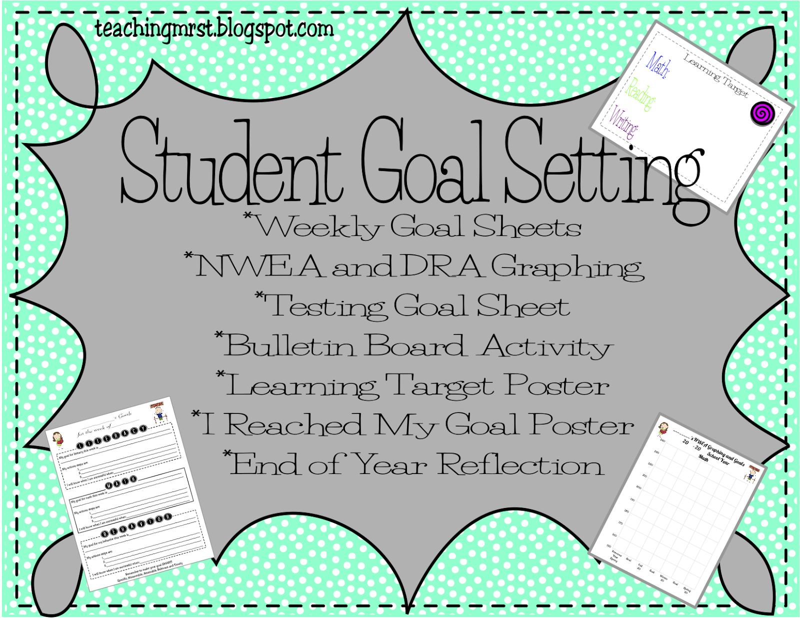 Teaching Mrs T Goal Setting