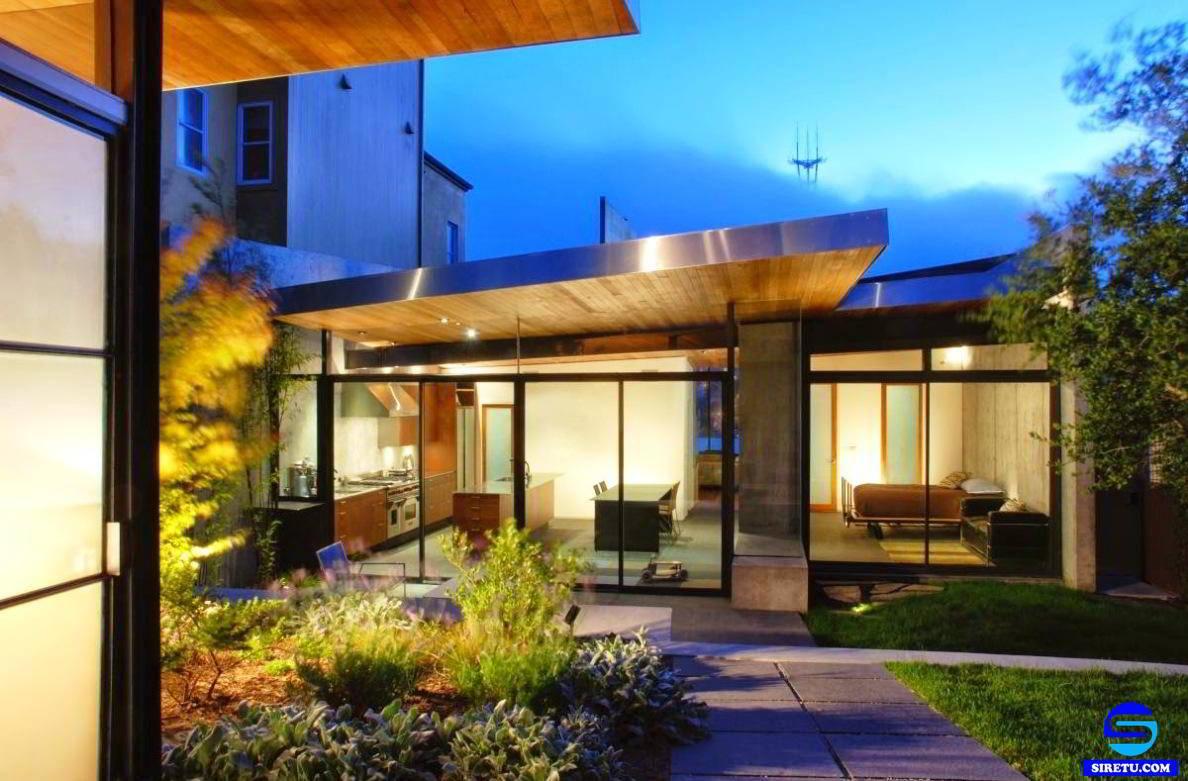 ツ 20 desain rumah kaca minimalis modern 2 lantai sederhana