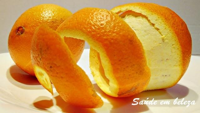 Benefícios da casca de laranja para a saúde