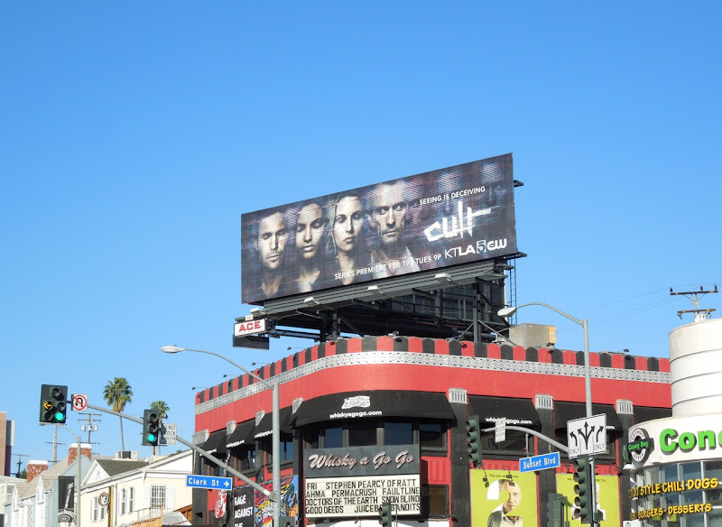 Cult series premiere billboard