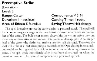 Preemptive Strike spell from HM4