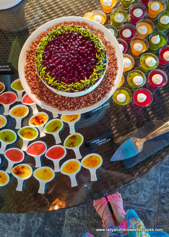 desserts in Fujairah Rotana Buffet
