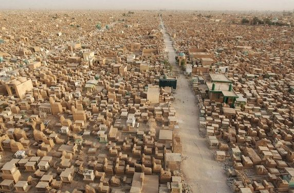 Wadi Al-Salaam, Worlds Largest Cemetery in Iraq