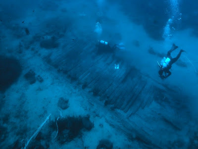 Greek antiquities found on Mentor shipwreck