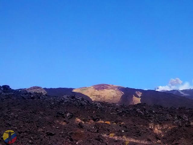 Emisiones volcán Etna