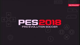 PES 2018 ISO + Save Data PPSSPP