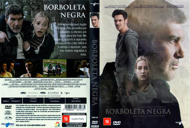 Capa DVD Borboleta Negra