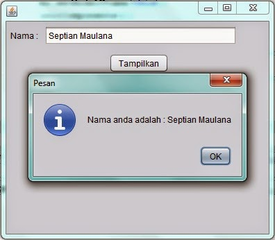 Program Sederhana MVC Java Netbeans
