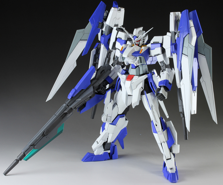 Mg 1 100 Gundam Age 2s Full Blaster Custom Build Gundam