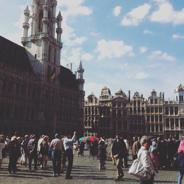 Ravacholle Lifestyle Blog A walk around Brussels