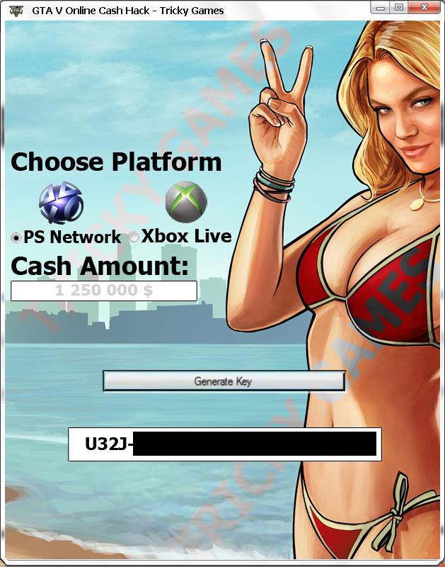 GTA V Online Cash Hack