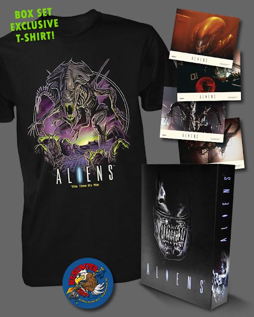 aliens box set tshirts