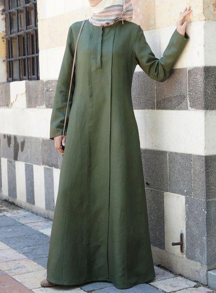 Model Gamis Syari Modern 2018