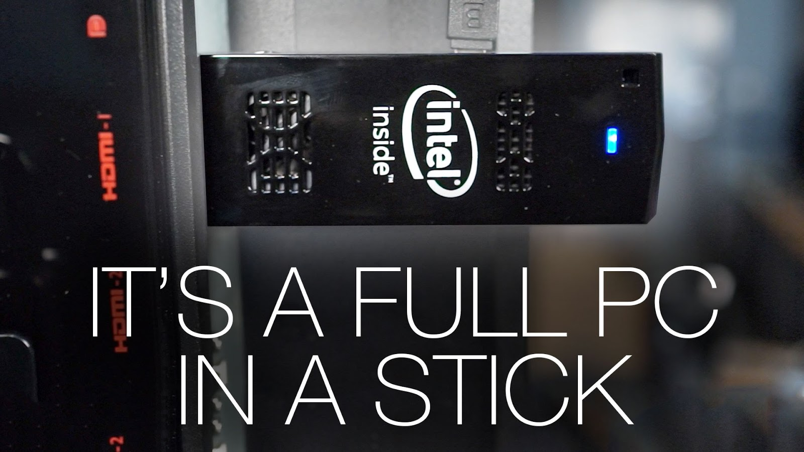 Intel compute stick - TV to computer device