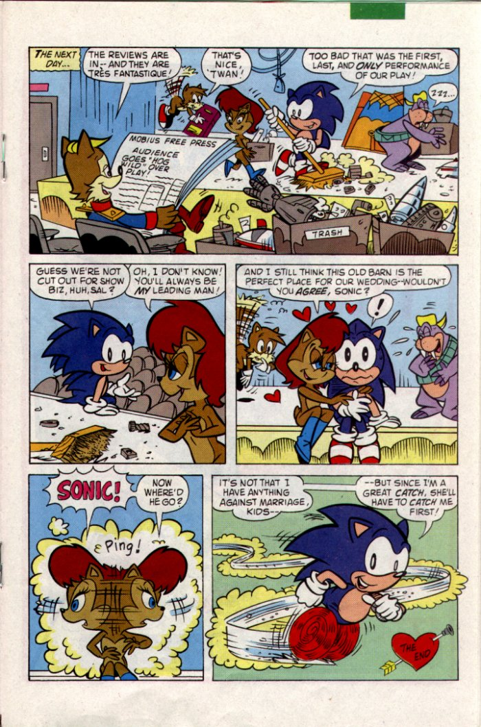 Read online Sonic The Hedgehog comic -  Issue #18 - 15