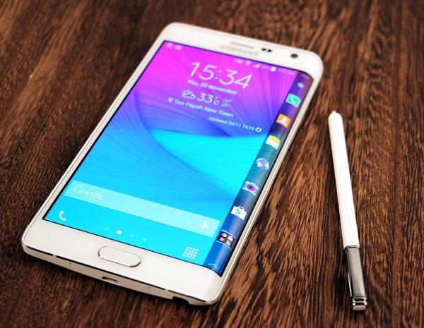 Các trường hợp thay mặt kính Samsung Galaxy Note Edge