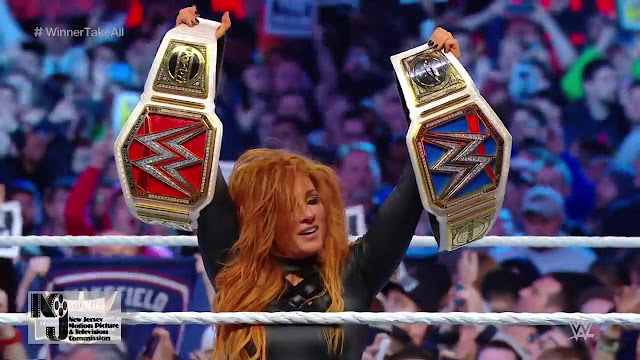 Becky Lynch Raw And Smackdown Women's Champion Wrestlemania 35