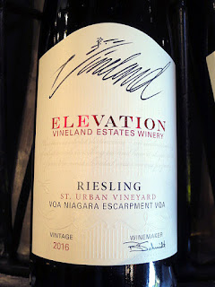 Vineland Estates Elevation St. Urban Vineyard Riesling 2016 (89+ pts)