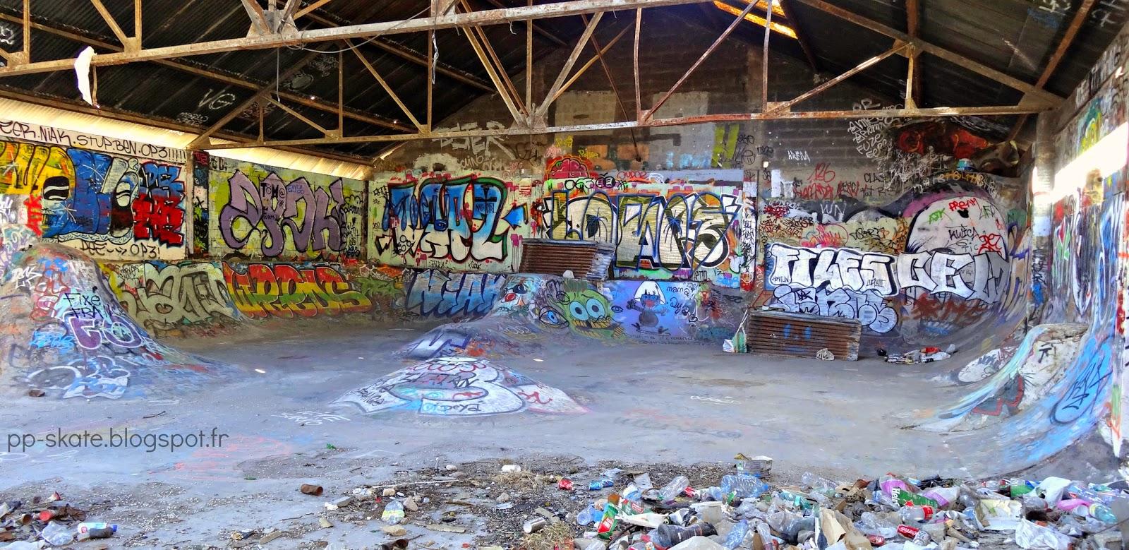 skatepark Marseille La caserne