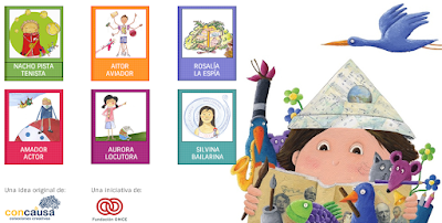 http://bibliotecainfantil.fundaciononce.es/