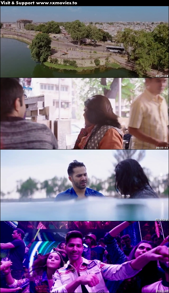 Badrinath Ki Dulhania 2017 Hindi 480p BluRay 400MB