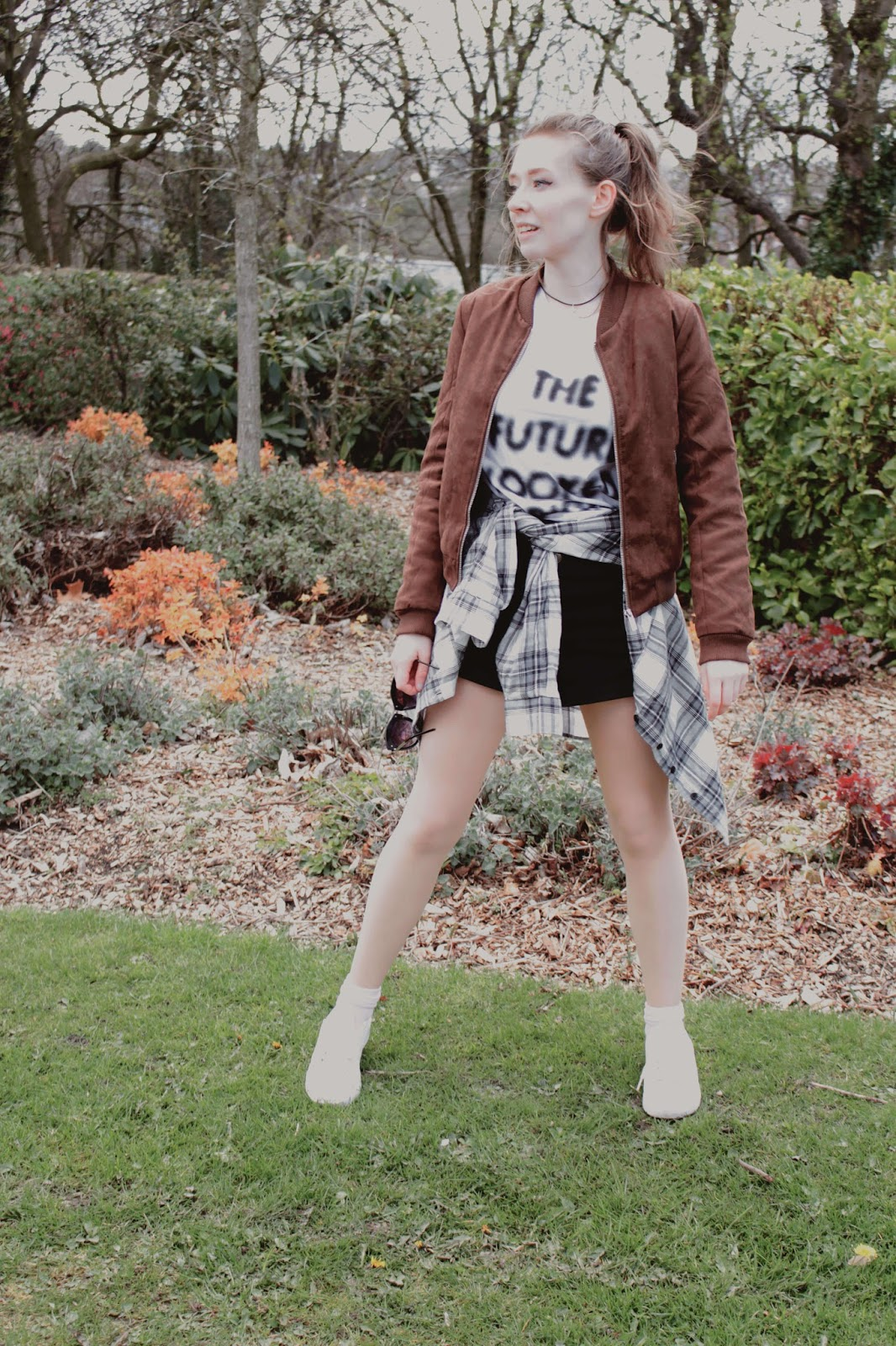 boohoo suede for spring ava suedette bomber jacket ootd inspiration