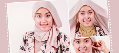 Tutorial Memakai Hijab Paris Sederhana Tapi Modis