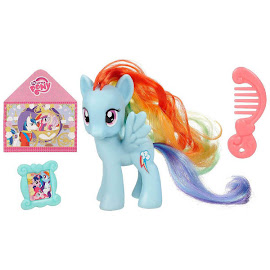 My Little Pony Single Wave 1 with DVD Rainbow Dash Brushable Pony