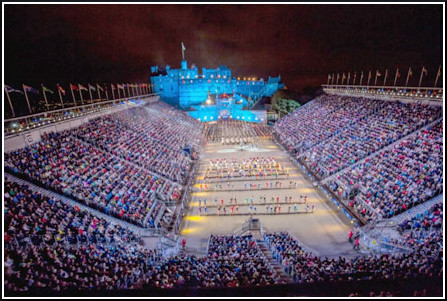 Chindits indian navy performs at royal edinburgh military for Royal edinburgh military tattoo