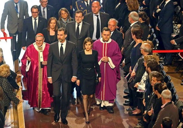 King Felipe And Queen Letizia Attends The Memorial Service For Germanwings Victims