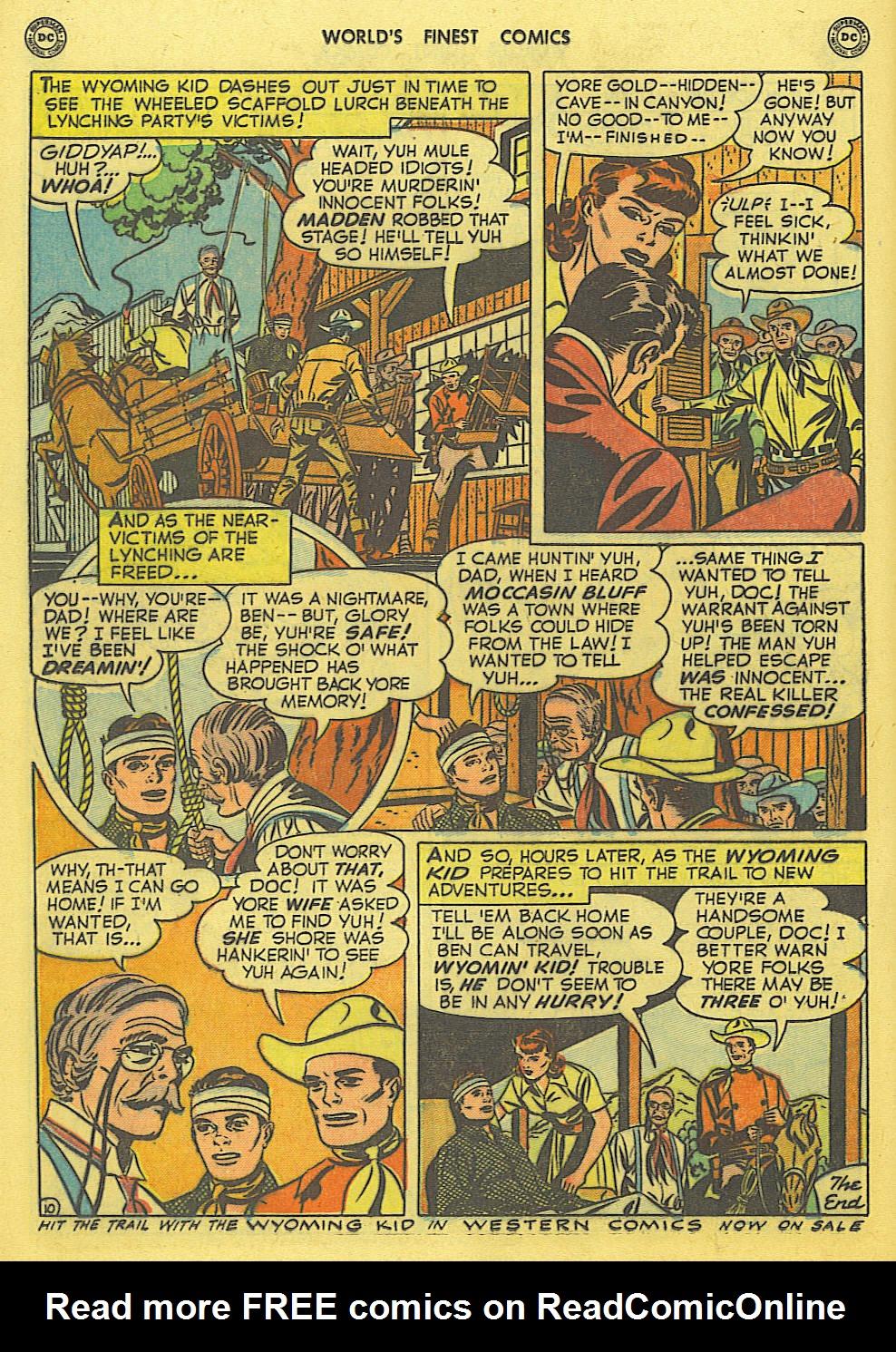 Read online World's Finest Comics comic -  Issue #49 - 49