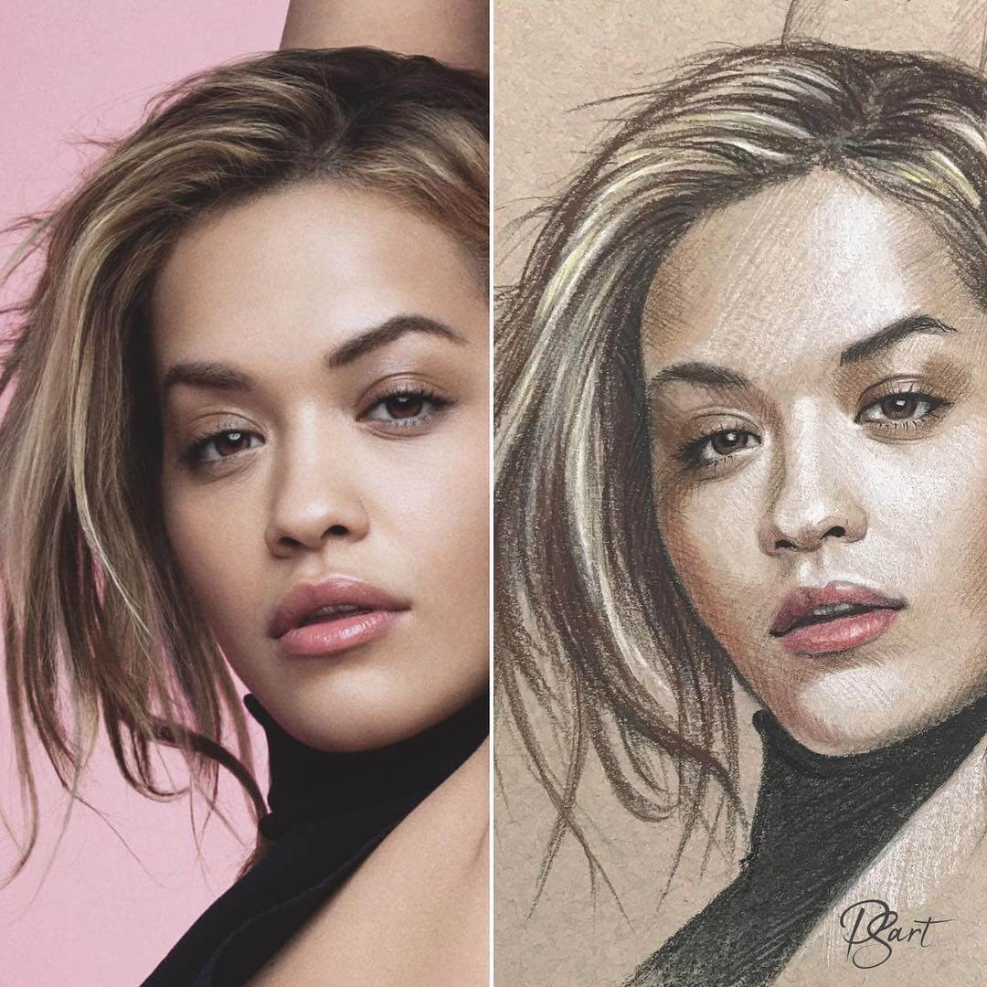 05-Rita-Ora-Pepper-Strokes-Traditional-Drawings-Pencils-and-Pens-www-designstack-co
