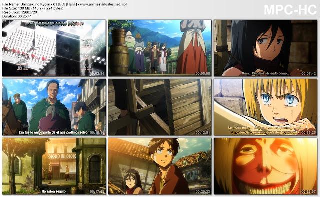 Shingeki no Kyojin Capturas