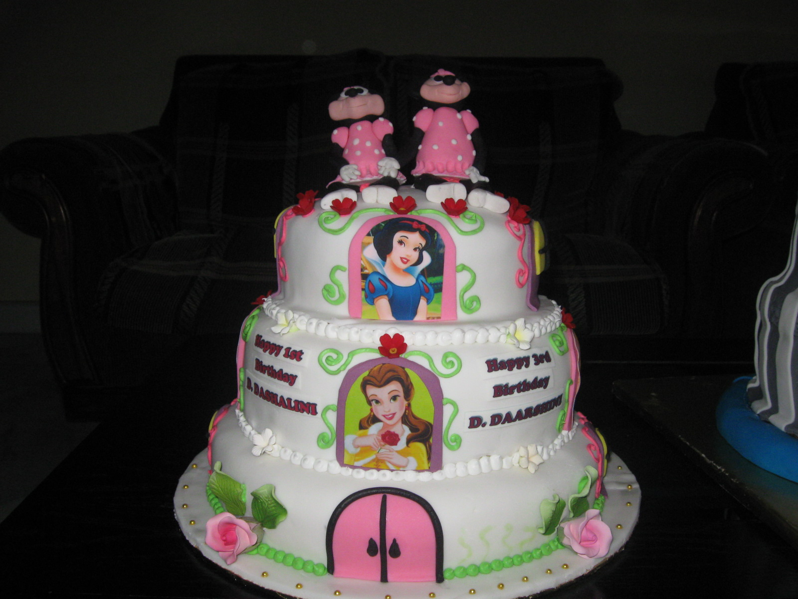 Fresh Princess Birthday Cake Princess Cake for A 3 Year3 Year Old