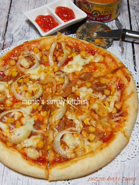 resep pizza kari tuna