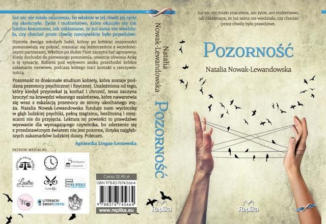 """""""Pozorność"""" Natalii Nowak-Lewandowskiej już niebawem w księgarniach pod patronatem medialnym Subiektywnie o książkach!"""