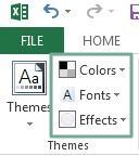 Memahami dan Menerapkan tampilan Tema di Excel