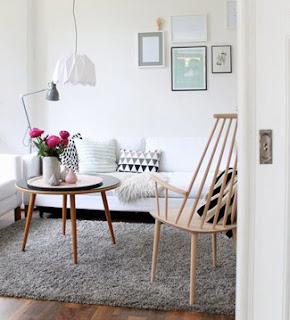 las alfombras separan visualmente los diferentes ambientes dentro de una estancia