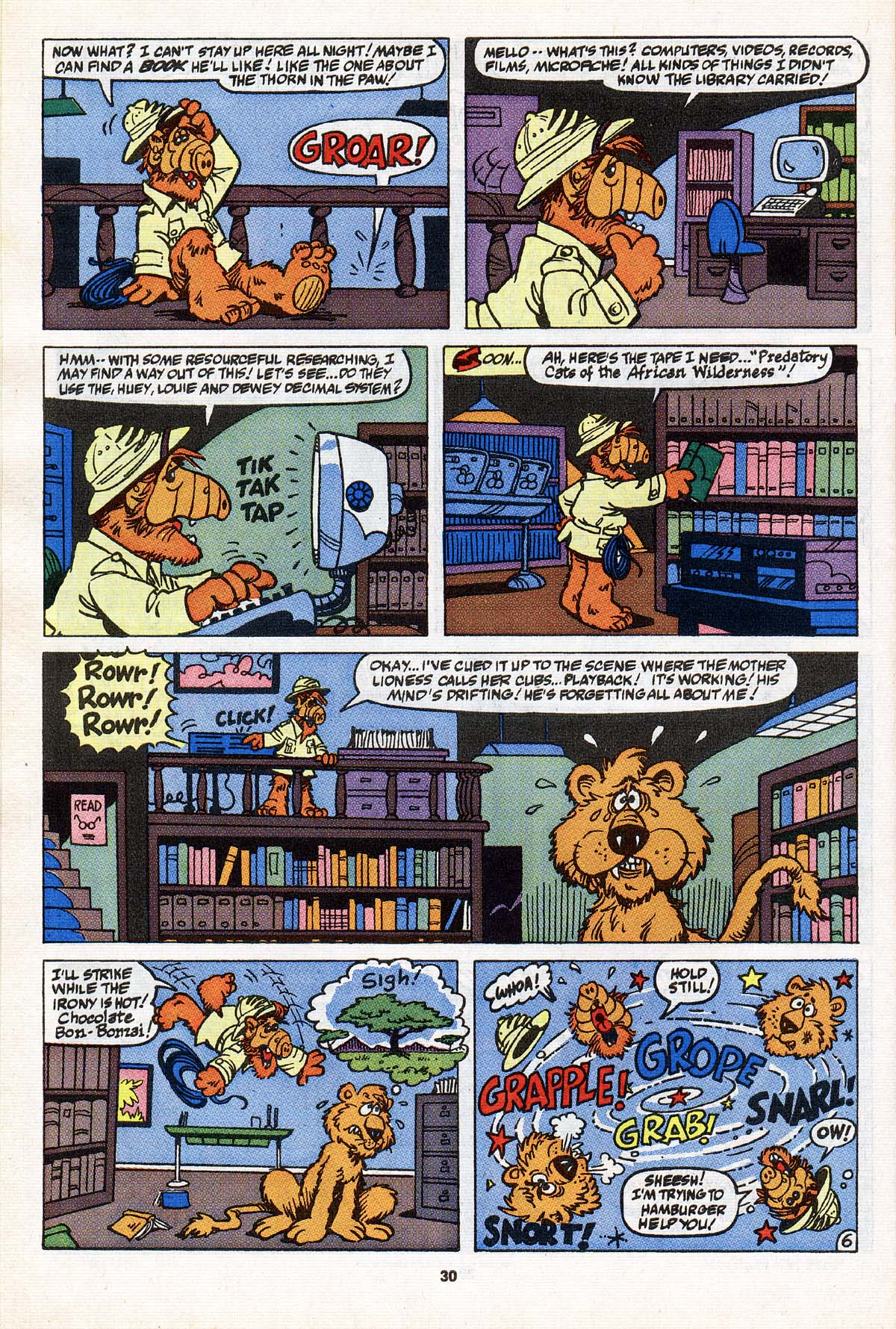 Read online ALF comic -  Issue #31 - 24