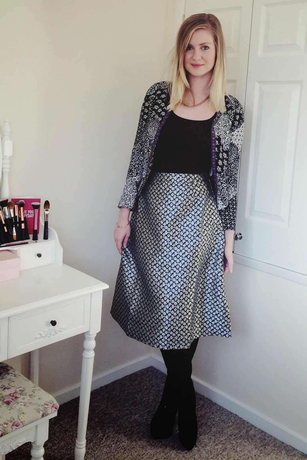 FashionFake, fashion bloggers, UK fashion blog, fashion mixed print