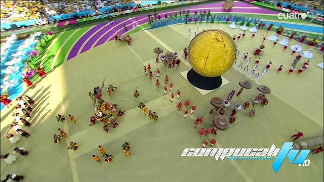 Mundial de Brasil 2014: Ceremonia de Apertura 1080p HD