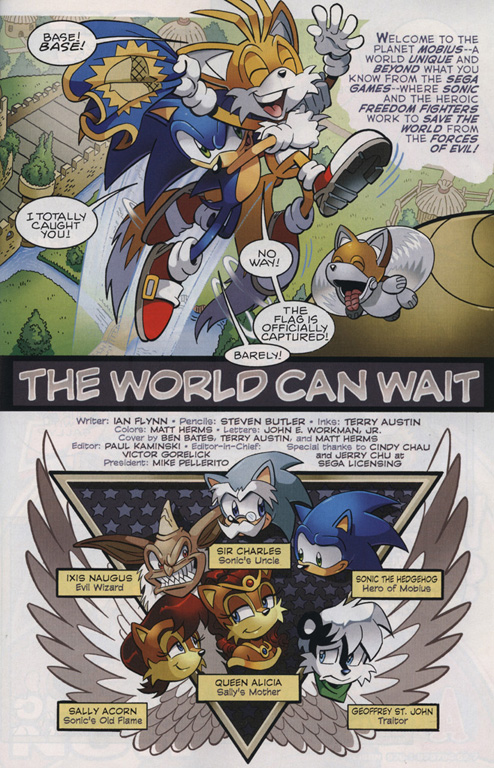 Read online Sonic The Hedgehog comic -  Issue #222 - 4