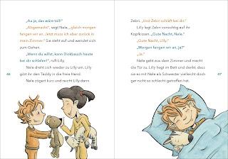 """Weiterer Blick ins Vorlesebuch """"Lilly, die Lesemaus"""" von Asja Bonitz"""