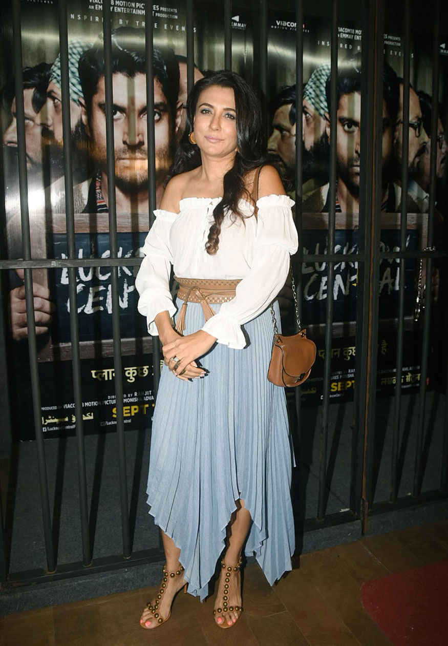 Diana Penty at Special Screening of Lucknow Central