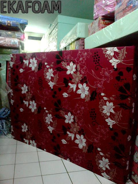 Kasur busa inoac terbaru 2016 motif bunga manohara