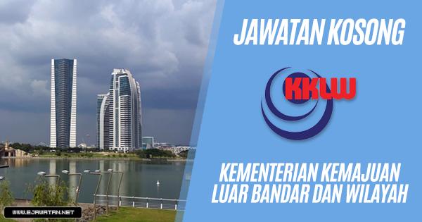 jawatan kosong Kementerian Kemajuan Luar Bandar dan Wilayah (KPLB) 2019
