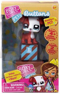 Щенок Boxy Girls Pets Buttons