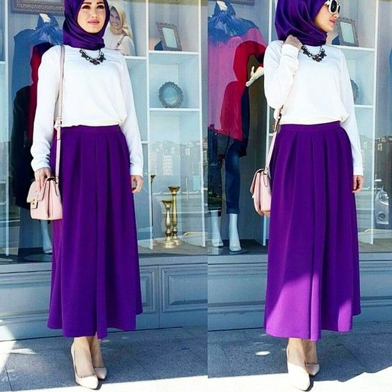 Hijab Fashion 2018 Summer