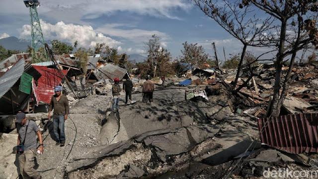BNPB: 1.234 Orang Meninggal Akibat Gempa-Tsunami Sulteng