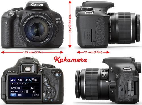 Harga dan Spesifikasi Canon EOS 600D,Kamera Yang Cocok Untuk Pemula